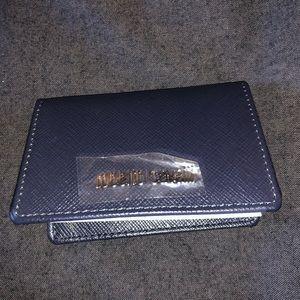 Roberto Cavalli Blue Leather card Holders